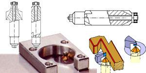 Horizontalspanntechnik Keilspanner Niederzugspanner Exzenterspanner mit Niederzug von Kopal Spanntechnik