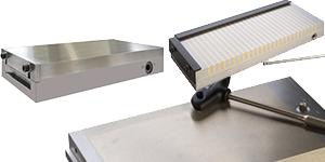 Magnetspannplatten Magnetspannfutter Magnetblöcke Lasthebemagnete.
