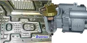 Vakuumspannen Vakuumspanntechnik Lieferannt und Hersteller präziser Vakuumplatten Spanntech GmbH